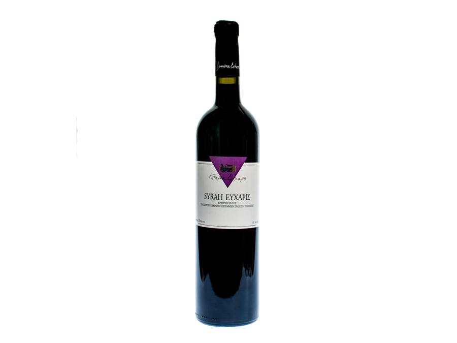 κτήμα Εύχαρις, κρασιά, μέγαρα, Syrah